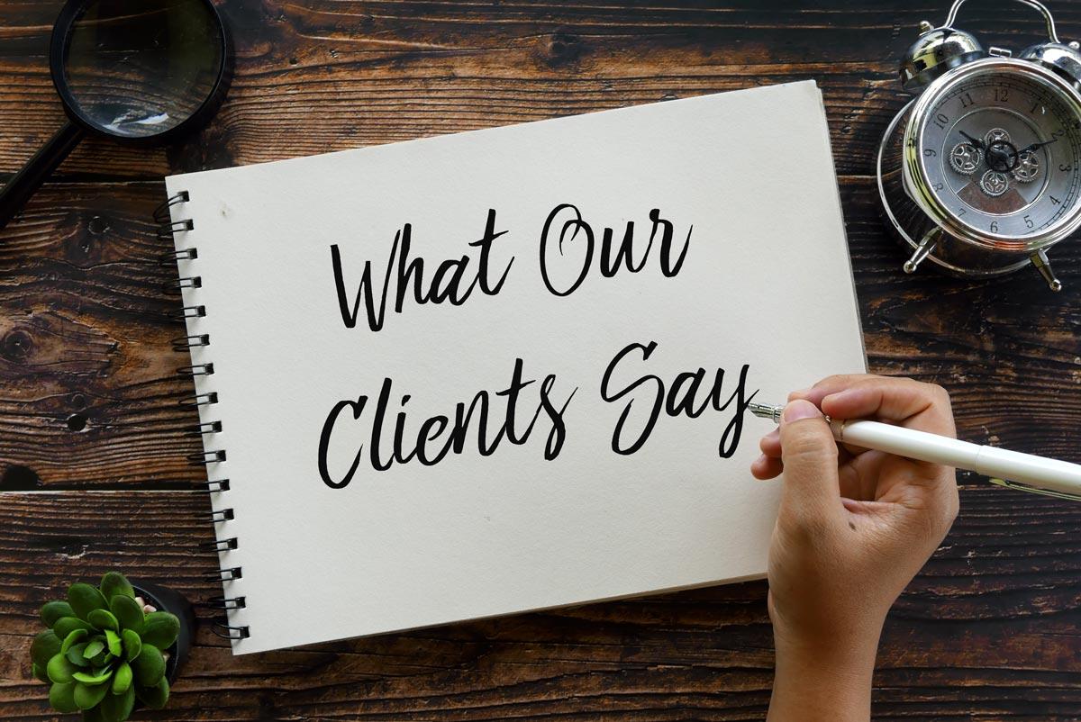 Testimonials From Our Clients | Goldman Associates